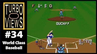 """World Class Baseball"" - Turbo Views #34 (TurboGrafx-16 / Duo game REVIEW!)"