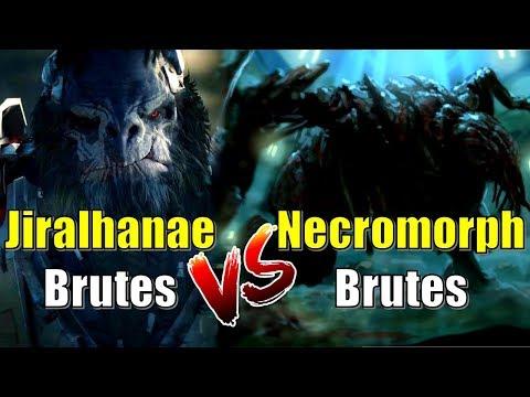 Jiralhanae Brute VS A Necromorph Brute | Halo VS Dead Space | Biological Break Down Explained | Lore