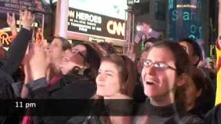 Election Night 2008 New York, Times Square