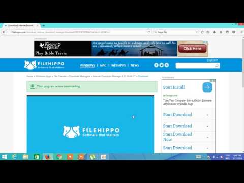 Learn How To Download File Downloa Manager From Hippo File And Install