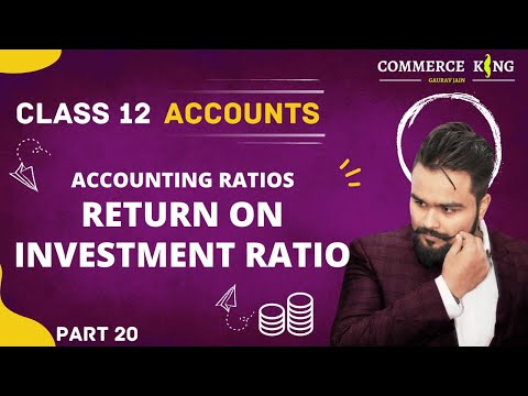 #113, class 12 Accounts (Accounting ratios: Return on  investment ratio)