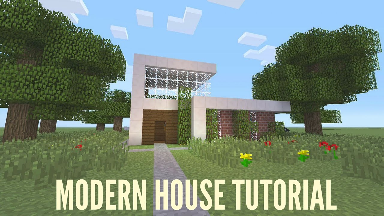Minecraft xbox one modern house tutorial youtube for Modern house xbox minecraft