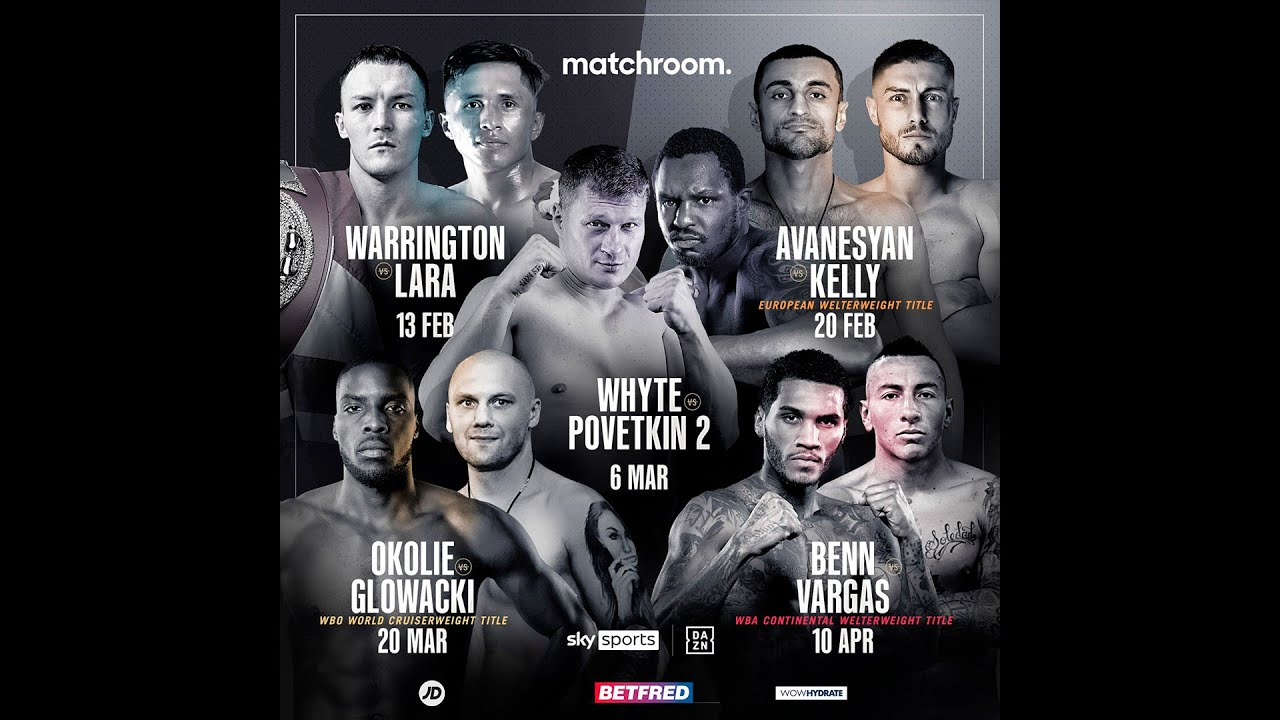 Eddie Hearn unveils upcoming Matchroom UK schedule