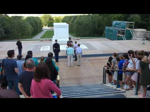 Rocky River Middle School Wreath Laying Ceremony