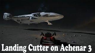 Elite: Dangerous. Landing Imperial Cutter on Achenar 3. Exploring Horizons. Part 10
