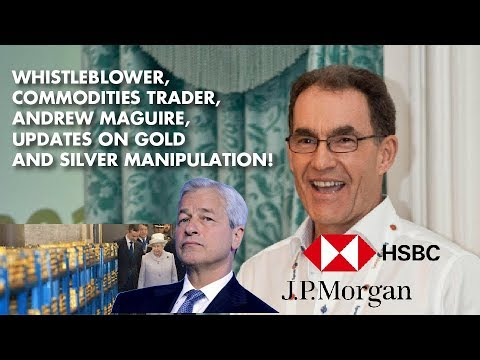 WhistleBlower Andrew Maguire: The Future For Precious Metals