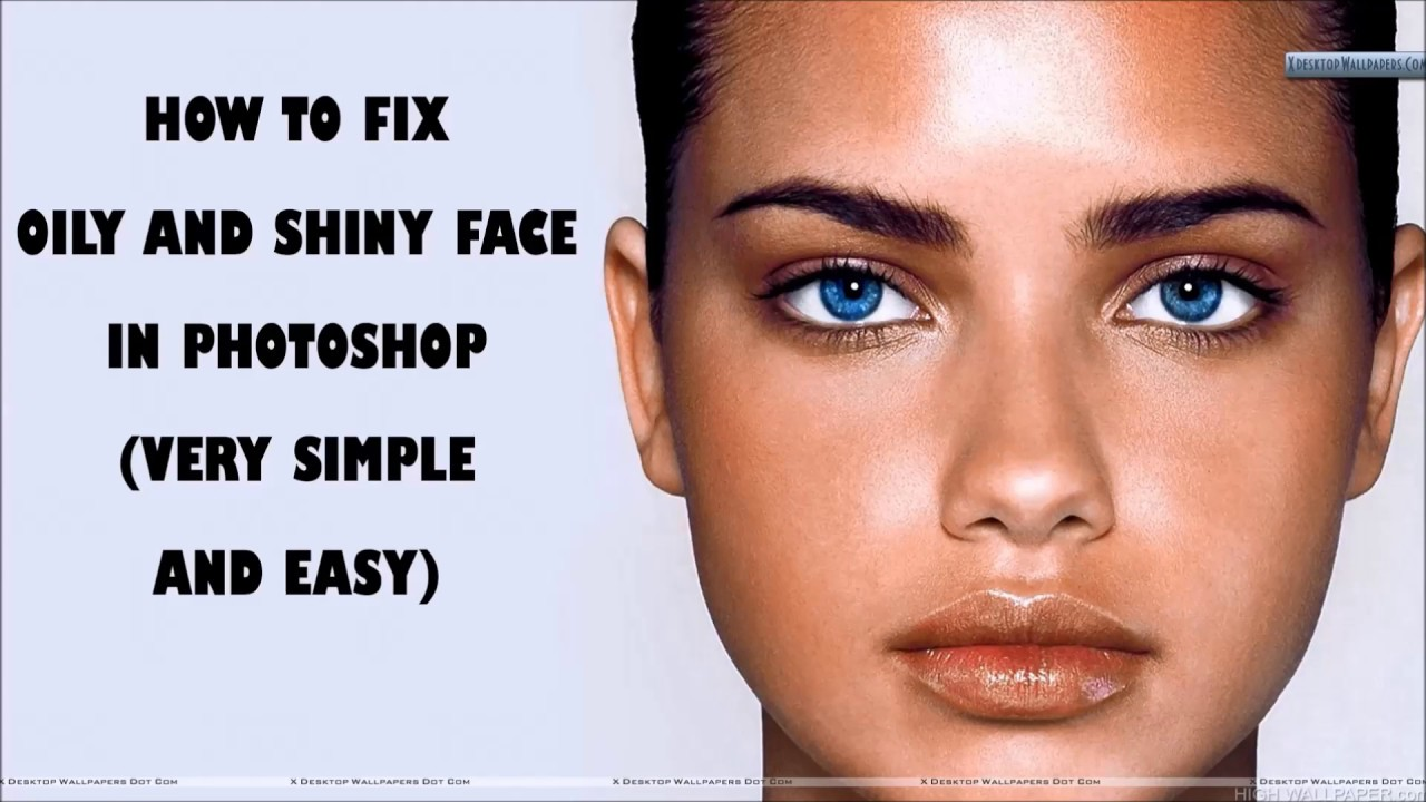 How to remove shine from the face 78