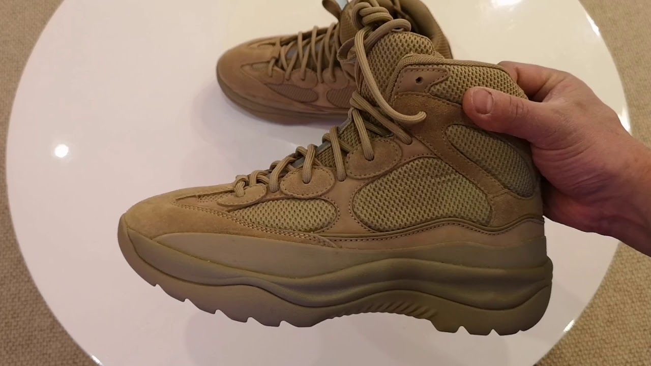 Yeezy Season 7 Desert Boots (Taupe