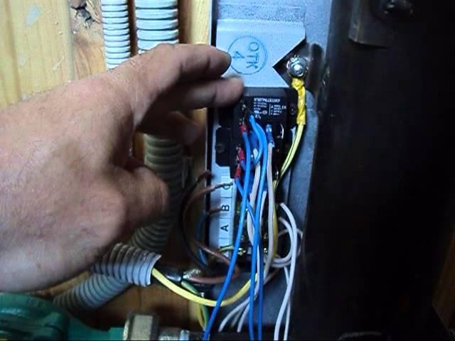 Электрокотел 6кВт- подключение