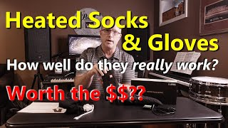 SHOULD YOU BUY HEATED SOCKS & GLOVES?? How well do they REALLY work?