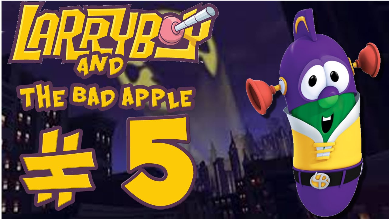 Larryboy and the bad apple part 5 end quot ooh chocolate quot youtube