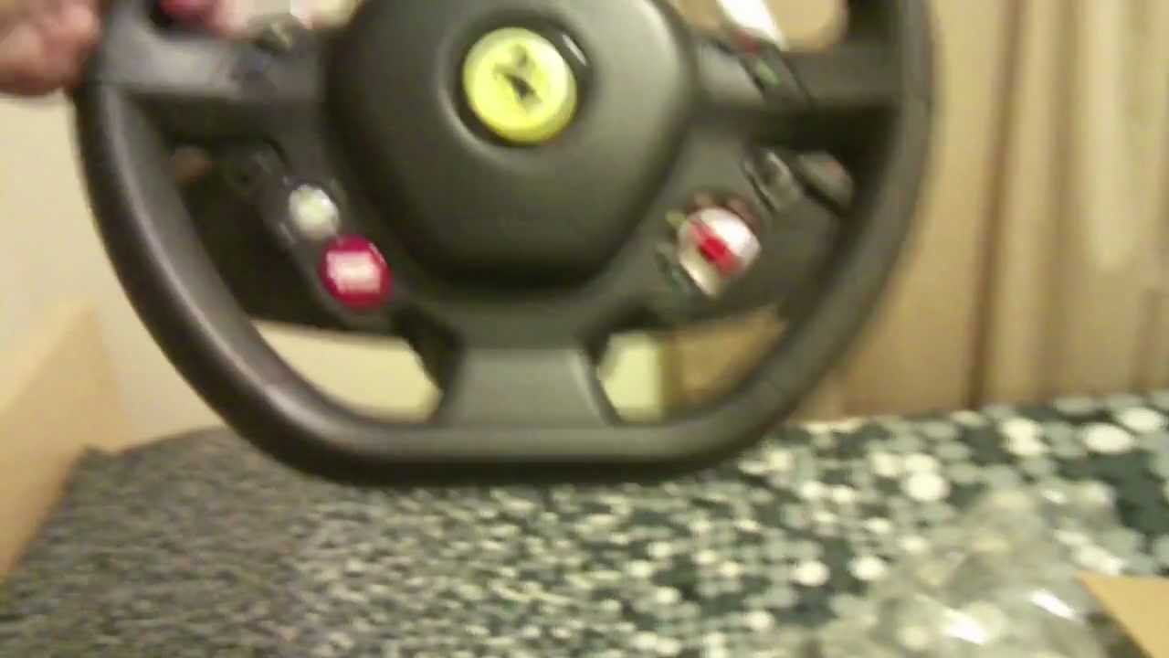 setup racing streaming and ferrari windows with xbox one my wheel watch thrustmaster spider youtube