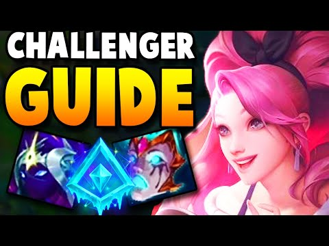 HOW TO PLAY SERAPHINE SUPPORT LIKE A CHALLENGER! - Seraphine League of Legends Gameplay