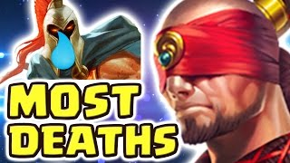 THE MOST DEATHS EVER IN RANKED !! FRIENDS MADE ME TOXIC (23 KILLS LEE SIN JUNGLE) - Nightblue3