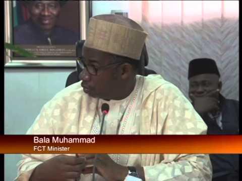 FCT Minister, Senator Bala Mohammed Receives NTA Management