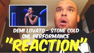 "Demi Lovato - Stone Cold SNL Performance ""REACTION"""