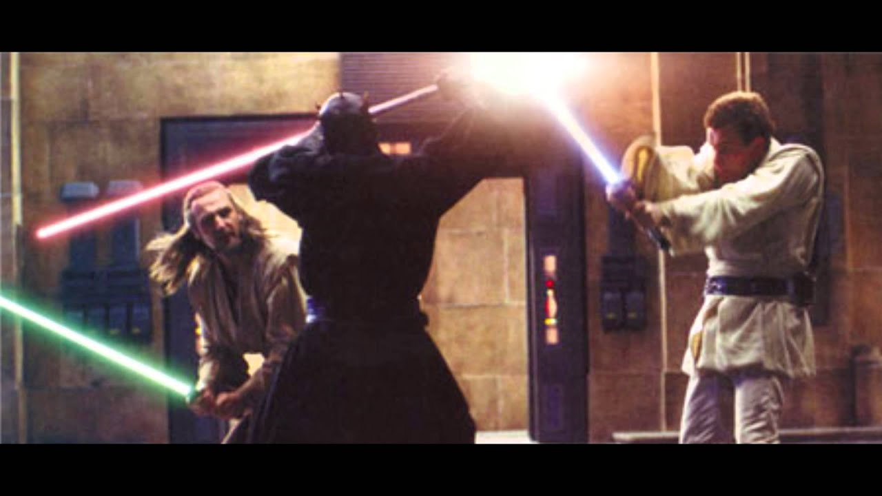 Darth Star Wars Maul Scene Fight