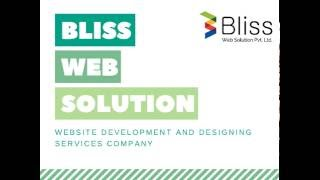 Web Development and Web Design services India(Bliss Web Solution is a Web Development & Web Design Services Company in India. We offer proficient service at reasonable price. We are also providing best ..., 2016-06-02T10:32:20.000Z)