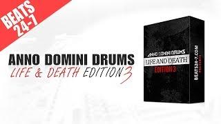 Hip Hop Drum Kit Anno Domini Drums Life Death Edition V3