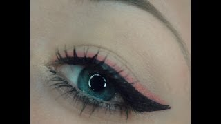 Pink and Black Double Winged Eyeliner Tutorial Thumbnail