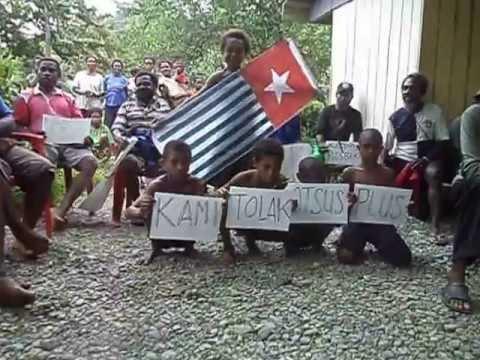 WPNA : Penolakan Otonomi Plus Oleh Anak Kecil di Kepulauan Yapen Tahun 14 Juli  2013