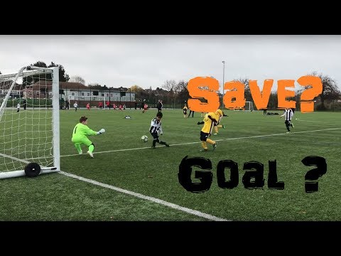 Young Goalkeeper Saves from Warm-Up & Football Match Footage | Kid Soccer Goalie