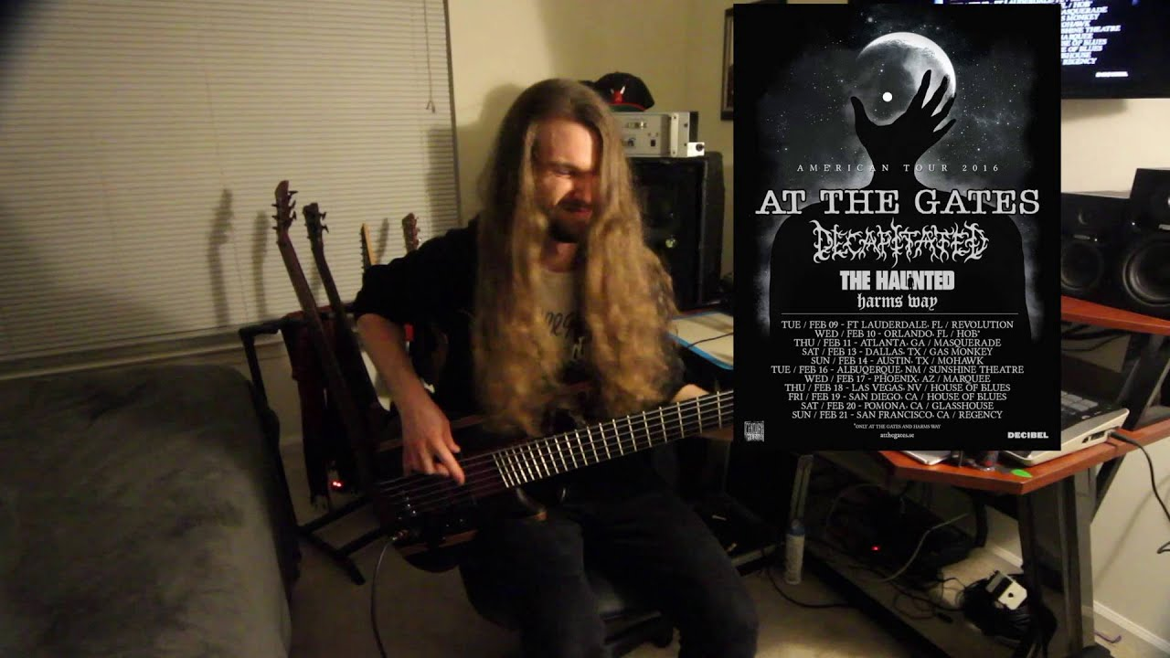 Decapitated Spheres of Madness Bass Guitar Cover