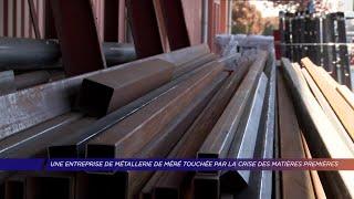Yvelines | Une entreprise de métallerie de Méré touchée par la crise des matières premières