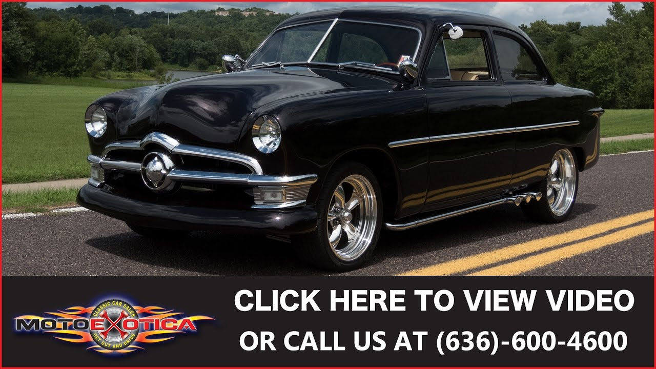 1950 Ford  Shoebox  (SOLD). MotoeXotica Classic Cars  sc 1 st  YouTube & 1950 Ford
