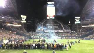 Sounders Win Confetti