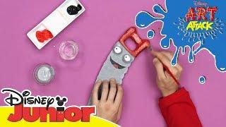 Art Attack Bastelclip #49: Witzige Werkzeuge | Disney Junior