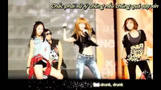 [Bonus/Vietsub]  SNSD & F(x) - Tik Tok (Jessica ft Krystal)