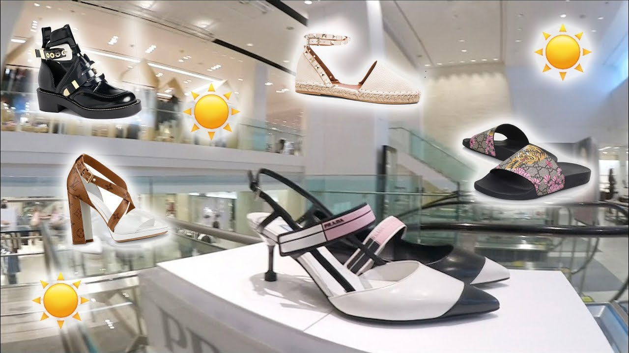 21f33f22d69 Part 1☀️Luxury Shopping Vlog ☀️SS18 SHOES Collection☀️Gucci ...