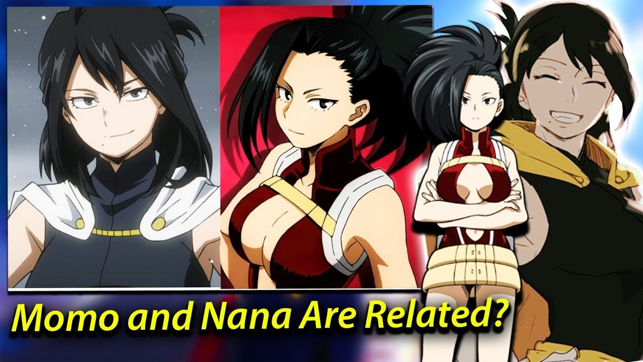 Momo Yaoyorozu Is Secretly Nana S Granddaughter Midoriya Second Quirk My Hero Academia Theories
