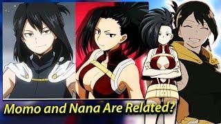 Momo Yaoyorozu is SECRETLY Nana's Granddaughter & Midoriya Second QUIRK - My Hero Academia Theories