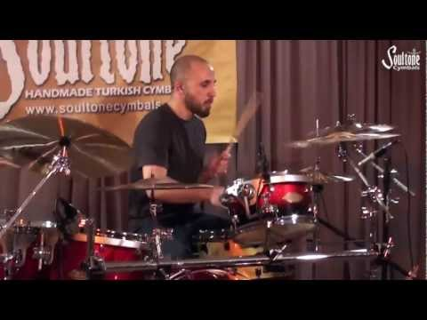 Tiny Fingers - Foot Technique Drum Cover By Tal Cohen