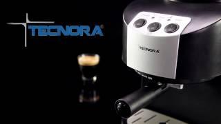 Tecnora New Classico TCM 107 M Thermoblock Pump Espresso and Cappuccino Coffee Maker 1050 W