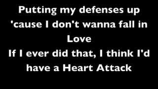 Demi Lovato - Heart Attack, Lyrics