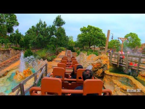 Disney's Big Grizzly High Speed Coaster - Hong Kong Disneyland