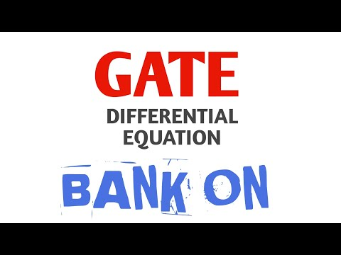 Differential equation( initial value problem)/ GATE MATHEMATICS LECTURE
