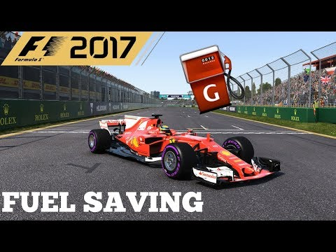 F1 2017 TIPS AND TRICKS FOR FUEL SAVING