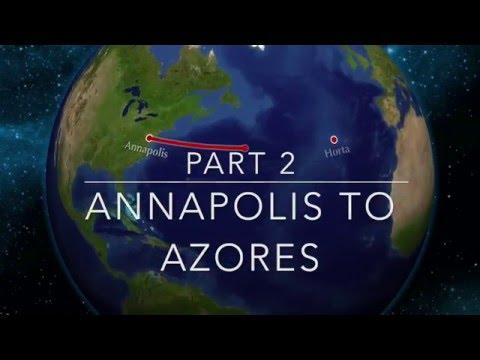 SY Zena Atlantic Crossing 2015