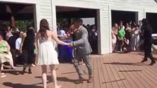 Matt & Shannon's bride and groom routine
