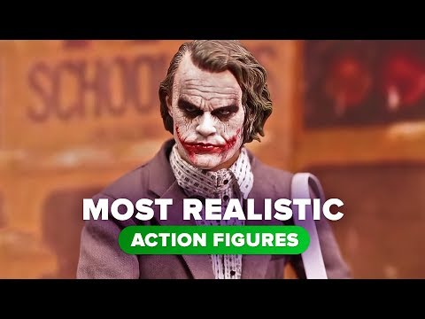 The most realistic action figures ever made