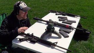Springfield Saint vs Ruger AR-556 vs S&W M&P15 Sport II