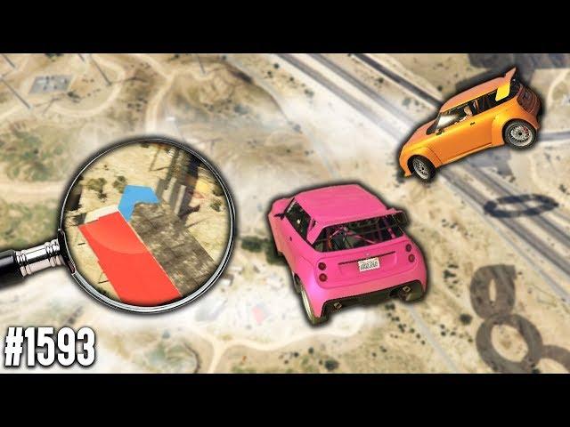 AUS 1000 METER auf WINZIGE Plattform springen | GTA 5 Online