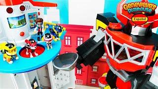 Aprende los Colores con Juguetes Paw Patrol y Megazord!