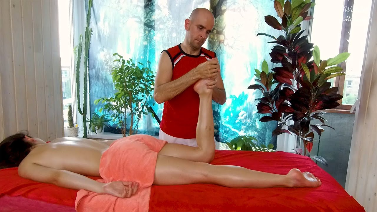 [ASMR] 30 minutes of deep relaxing massage. Beautiful body massage