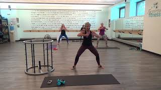 Killer Butt and Abs for your best body yet! 70's Style PowerBarre