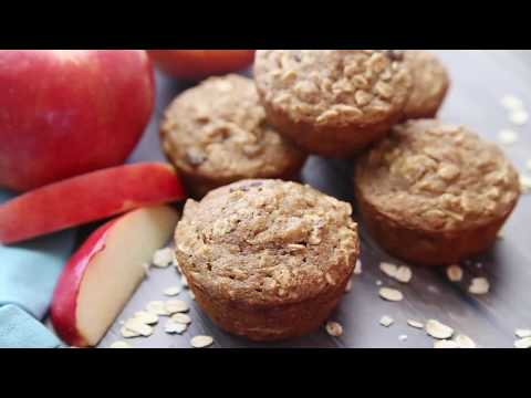 Featured Recipe Oatmeal Applesauce Muffins